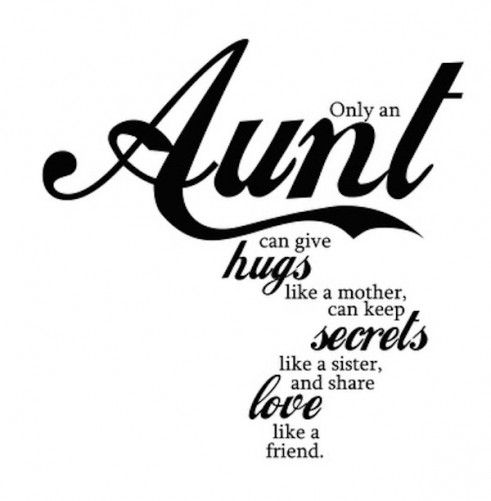 Being an Aunty
