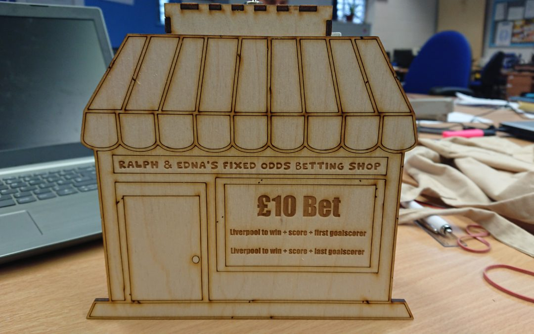 Make Your Own: Bet Generator Money Box
