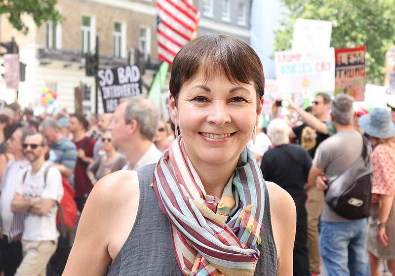 Caroline Lucas and the All Female Cabinet