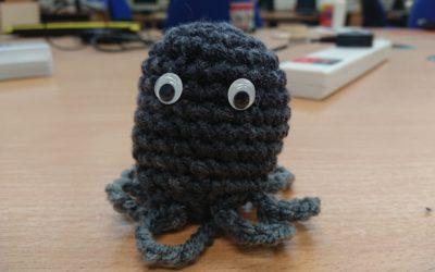 Crochet Mini Octopus